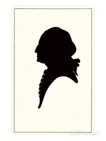 366x488 Silhouette George Washington