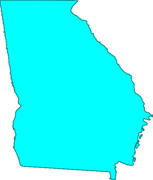 504x592 Georgia Blue Clip Art
