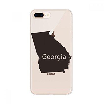 425x425 Georgia America Usa Map Silhouette Apple Iphone 78