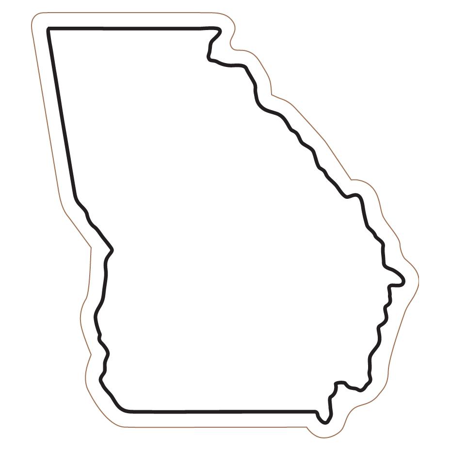 930x930 State Of Georgia Clipart