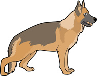 german shepherd silhouette clip art at getdrawings com free for rh getdrawings com german shepherd clip art public domain german shepherd clip art free