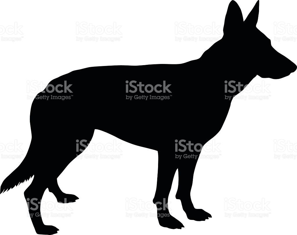 1024x812 German Shepherd Silhouette Clip Art Free German Shepherd