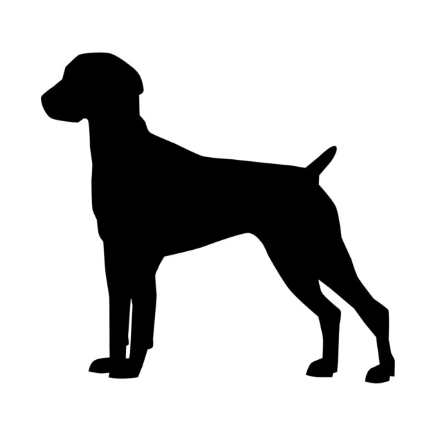 630x630 German Shorthaired Pointer Silhouette