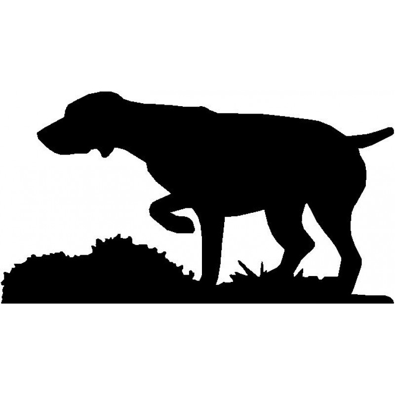 800x800 Dog Breed Silhouette Wall Hanging Magnetic Memo German