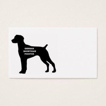 350x350 German Shorthaired Pointer Business Cards Business Cards 100