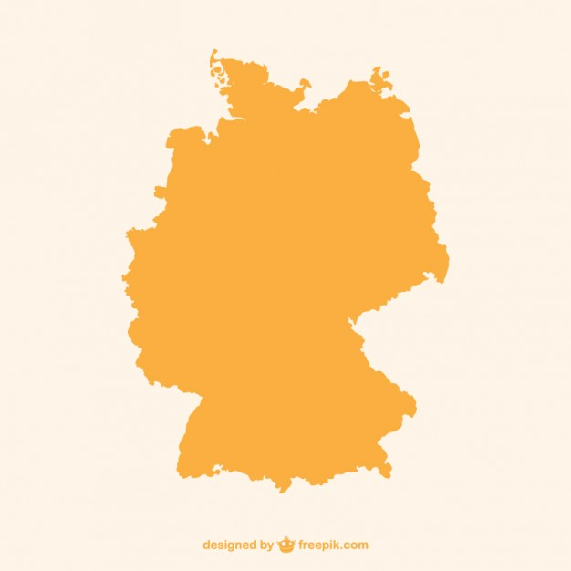 626x626 Orange Germany Silhouette Vector Free Download
