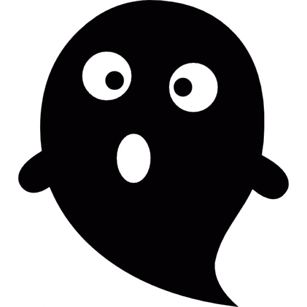 626x626 Halloween Ghost Shape Icons Free Download