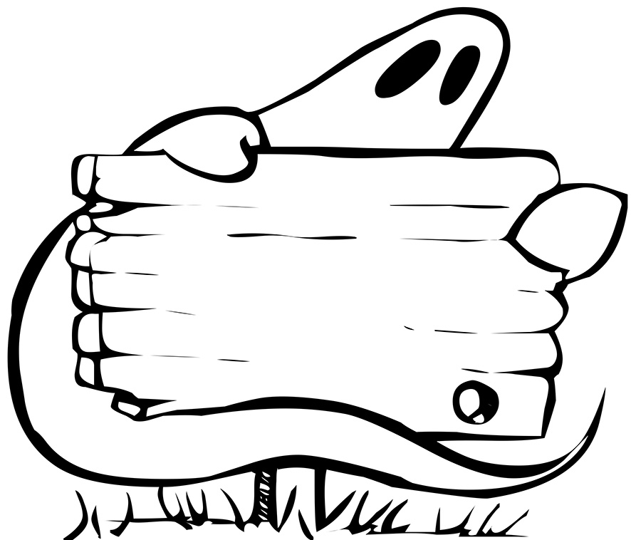 ghost silhouette clipart at getdrawings com free for personal use rh getdrawings com halloween clipart black and white free halloween black and white clip art images