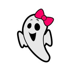 236x236 Baby Ghost Boo Cuttable Design Cut File. Vector, Clipart, Digital