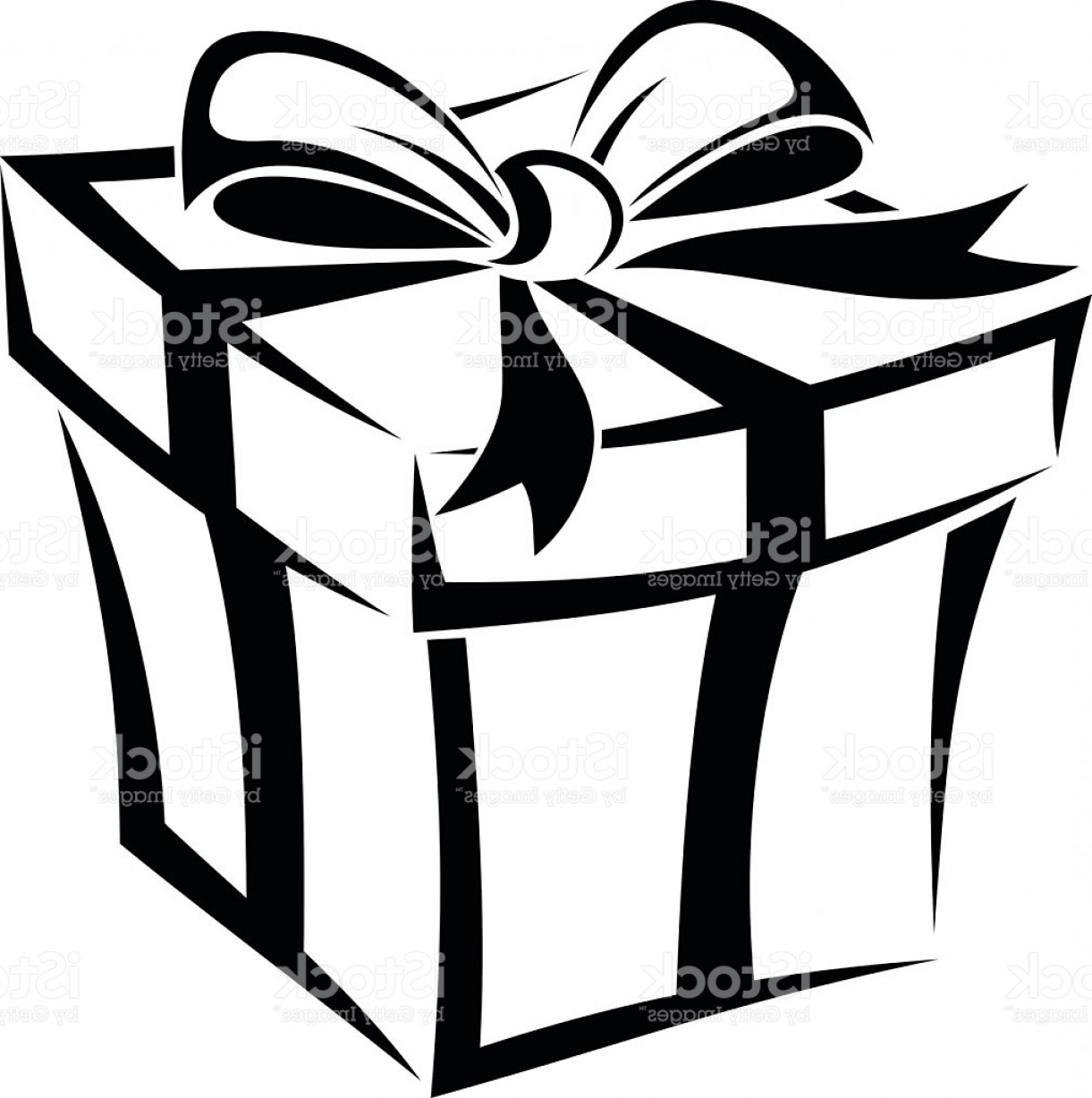 Gift Box Silhouette At GetDrawings