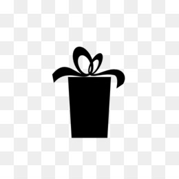 260x260 Free Download Gift Computer Icons Ribbon Box Silhouette