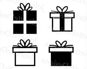 340x270 Gift Clipart Silhouette Many Interesting Cliparts
