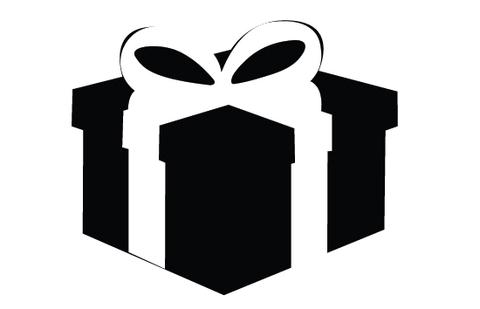 Gift silhouette vector at getdrawings free for personal use 480x309 giftbox silhouette vector silhouettes vector negle Image collections