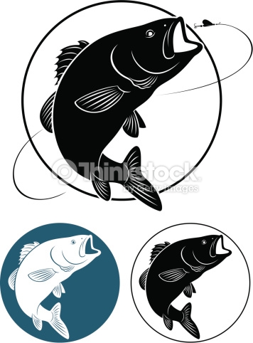 356x482 The Figure Shows Fish Bass Tombstone Silhouette
