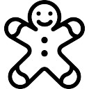 128x128 Gingerbread Man Vectors, Photos And Psd Files Free Download
