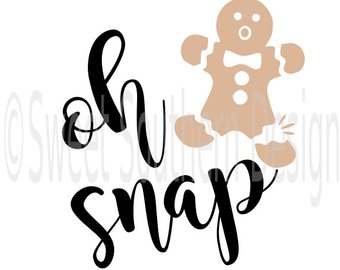 340x270 Oh Snap Gingerbread Etsy