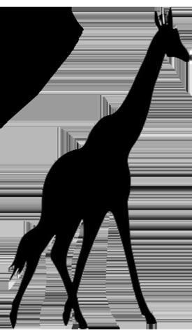 Giraffe Silhouette Clip Art