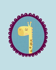 240x300 Buy Giraffes, Animals, Birds, Amp Fish, Paintings Amp Prints