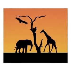 300x300 Silueta De Elefantes