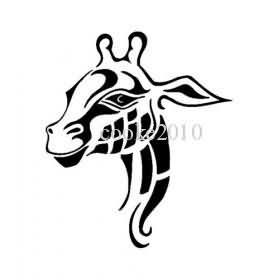 280x280 Giraffe Tattoo Drawing
