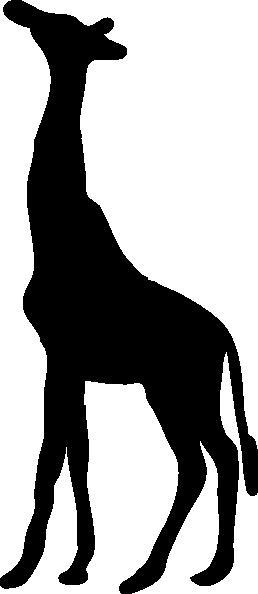 258x594 Contour Chipmunk Clip Art