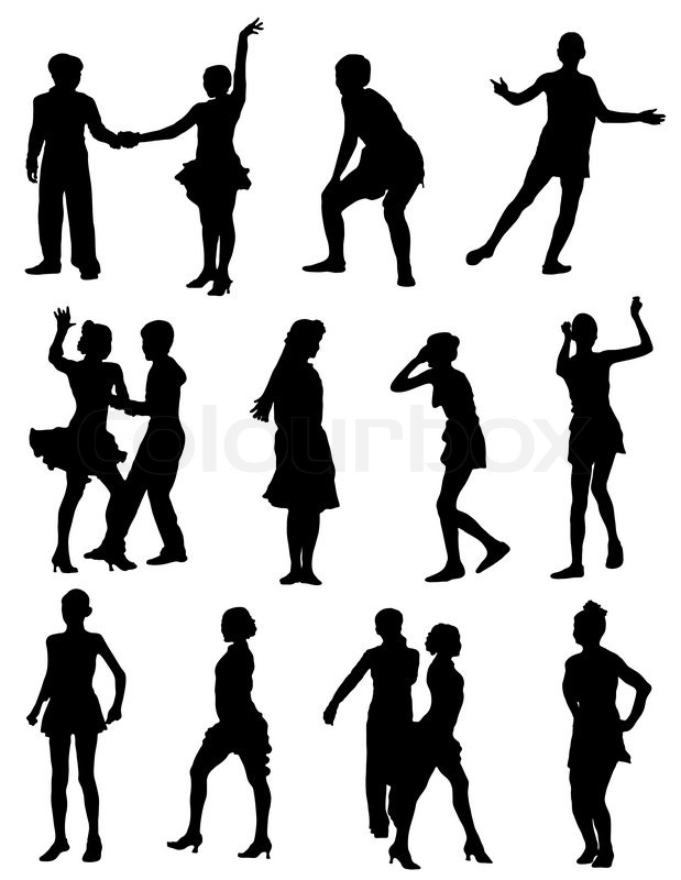 Girl And Boy Silhouette At Getdrawings Com Free For