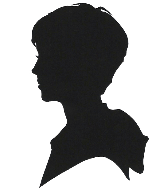 534x616 Boy And Girl Silhouette Head