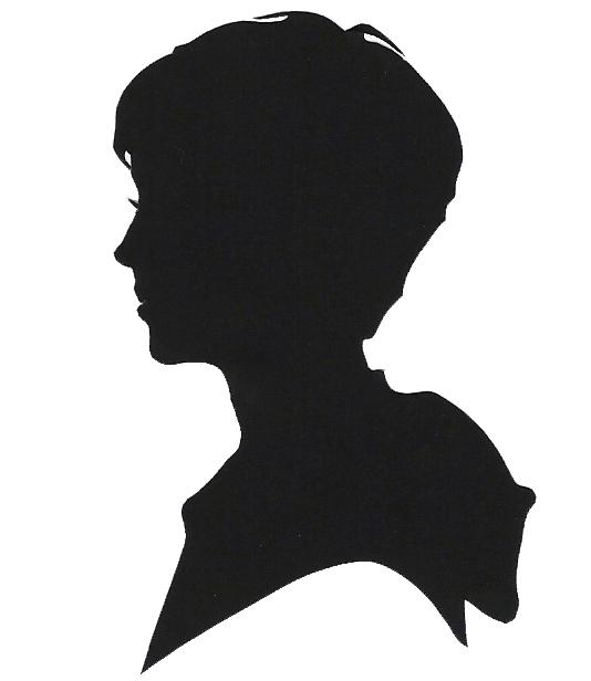 534x616 Boy And Girl Silhouette Head