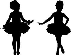 236x183 Little Ballerina Silhouette Ballerina Party