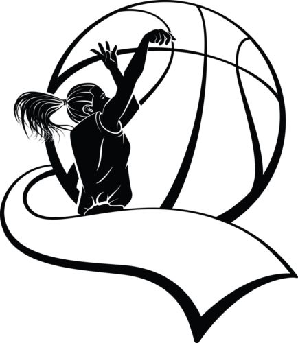 girl basketball player silhouette at getdrawings com free for rh getdrawings com girl player basketball clipart black and white girl basketball player clipart