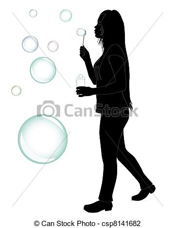 360x470 Girl Silhouette Soap Bubbles Stock Photos And Images. 112 Girl