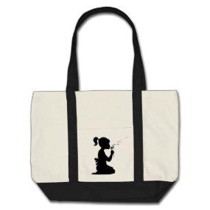 307x307 Dandelion Silhouette Bags Amp Handbags Zazzle