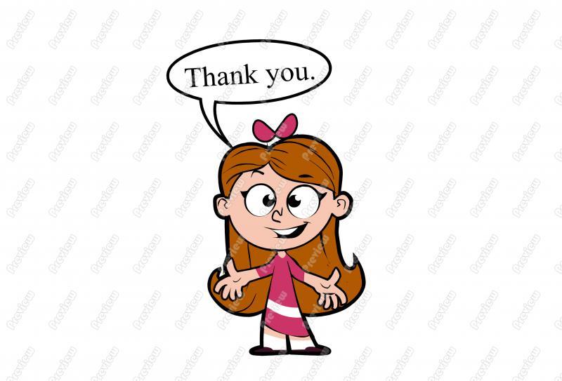 800x543 Cartoon Clipart Girl Image