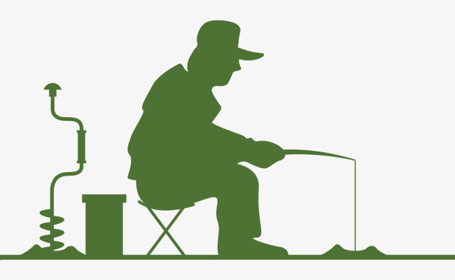 650x400 Fishing Silhouette, Green, Fishing, Leisure And Entertainment Png