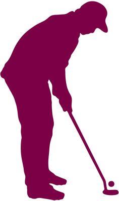 236x400 Girl Golfer With Golf Bag Silhouette Golf Bags, Golf And Golf Stuff