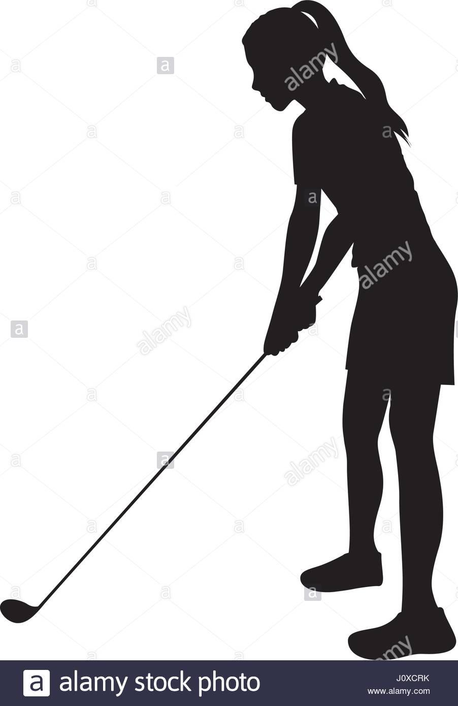 902x1390 Golfer In Silhouette Stock Photos Amp Golfer In Silhouette Stock