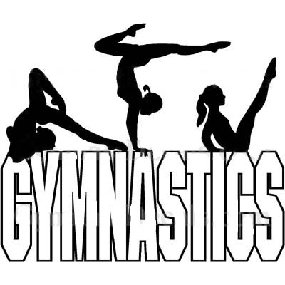 400x400 Girl Gymnastics Clipart Silhouette Clipart Library