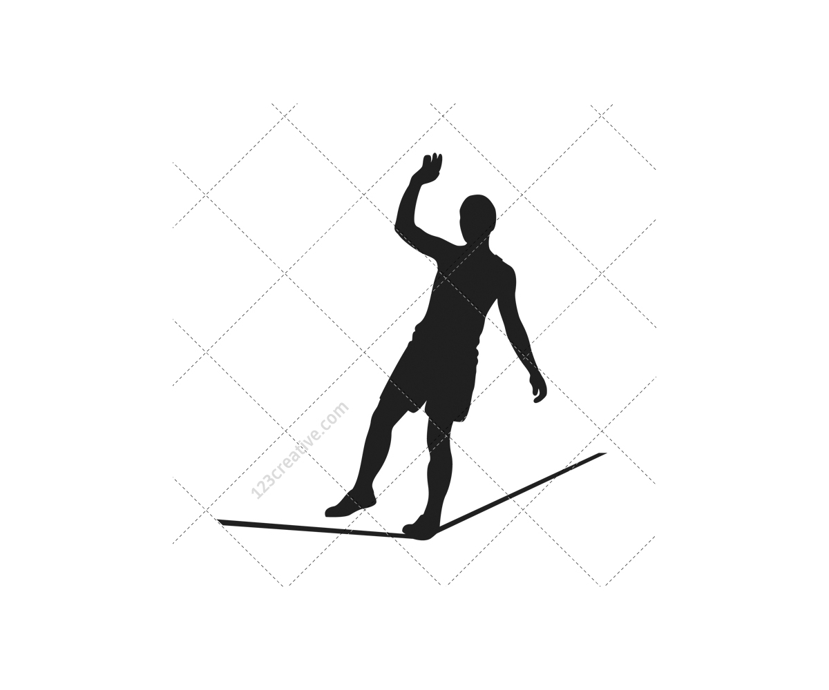 1200x1000 Gymnast Silhouettes Vector Pack