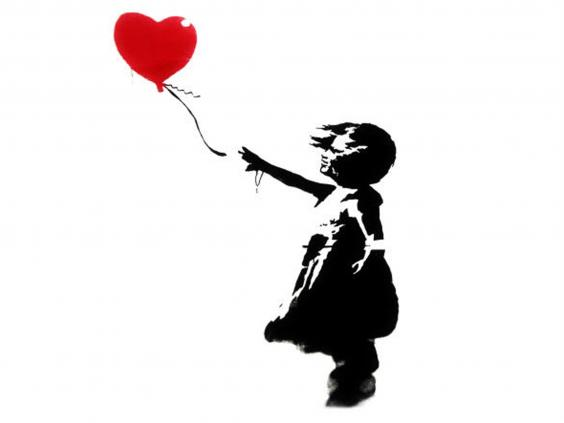 564x423 Banksy Reworks Girl With Heart Balloon To Mark Third Anniversary