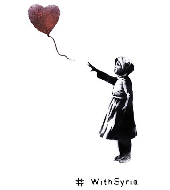552x614 Banksy Has Updated His Famous