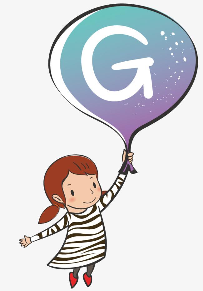 650x930 Girl Holding Balloons, Girl, Balloon, Cartoon Png And Vector