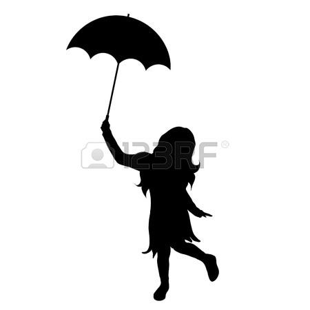 450x450 Umbrella Silhouette