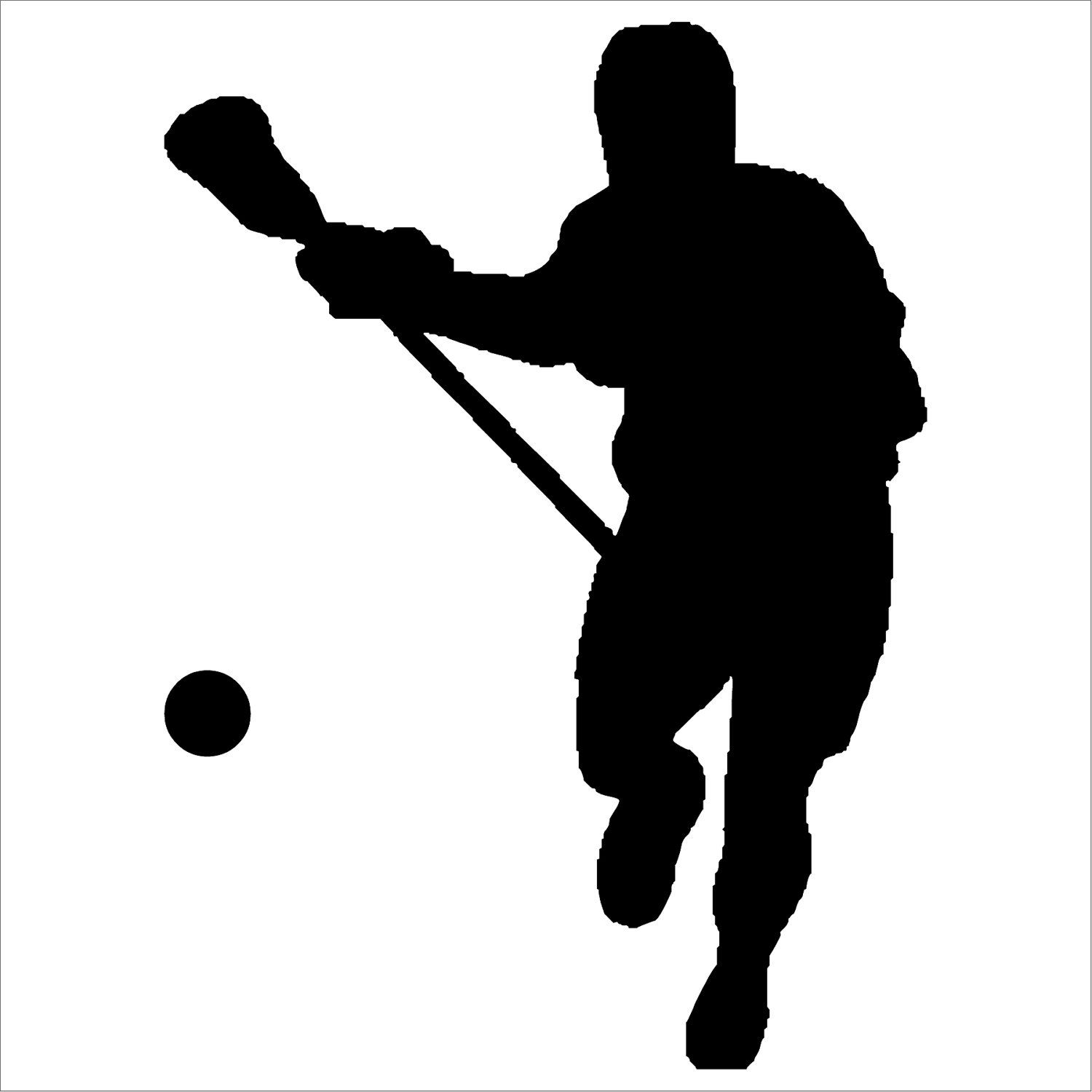 1500x1500 Lacrosse Wall Vinyl Wall Decal Lacrosse And Wall Decals