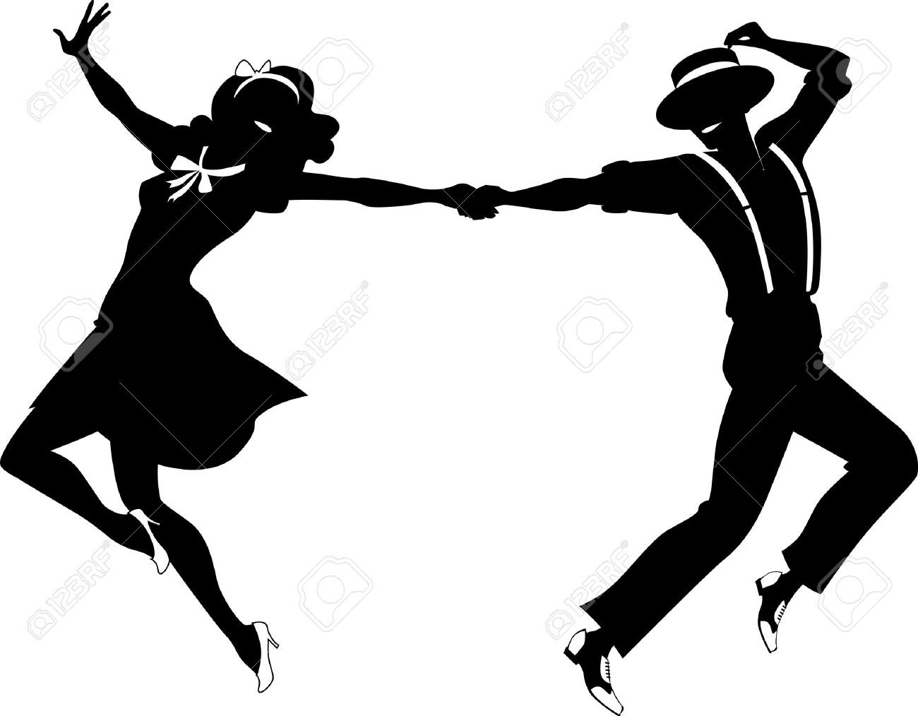 1300x1014 Tap Dance Man And Women Silhouette Good Use For Symbol Logo Lovely