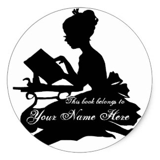 324x324 Girl Silhouette Stickers Amp Labels Zazzle Uk