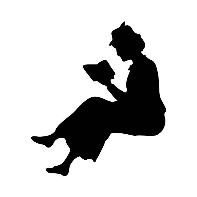 660x660 Lady With A Book