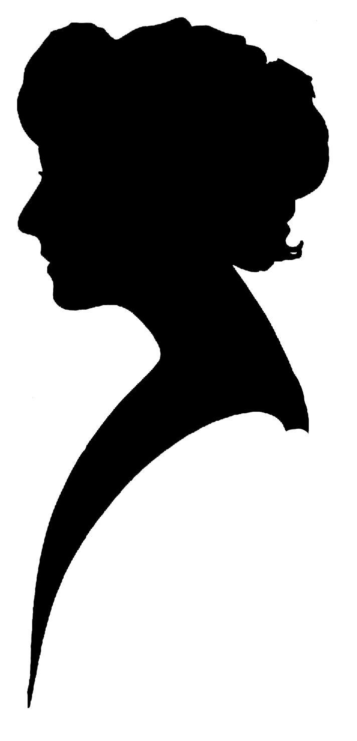 712x1479 Female Silhouette Clip Art