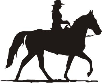 359x291 Cowgirl Clipart Riding Horse