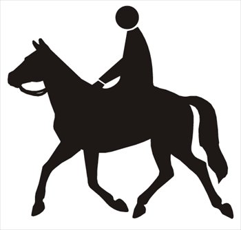 350x335 Horse Riding Clipart Black And White Amp Horse Riding Clip Art Black