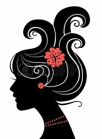 329x450 Silhueta Fashion Illustration Girl Silhouette